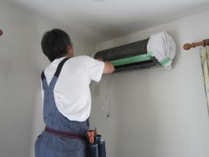 エアコン掃除  山口さん